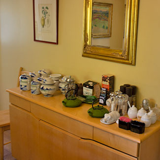 Coffee and Tea service available for guests