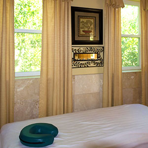 enjoy a relaxing massage in one of our private massage rooms